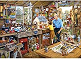 Gibsons Grandad's Workshop Jigsaw Puzzle, 1000 piece