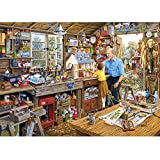 Grandad's Workshop Jigsaw Puzzle (1000-Piece)