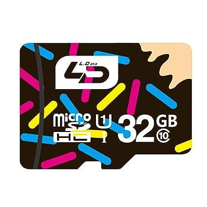 Amazon.com: LD 32 GB Clase 10 Micro SD TF tarjeta micro SD ...
