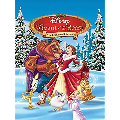 beauty and the beast the enchanted christmas plus bonus feature - Animated Christmas Movies