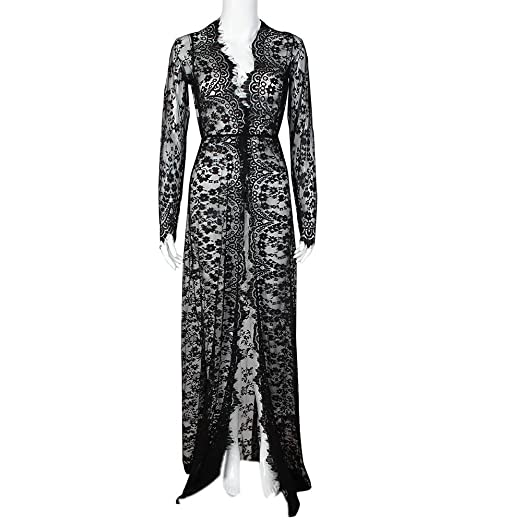 f6163858699bf Siviki Dress Women Dress, Pregnant Women Lace Fashion Long Sleeve Sexy  Evening Dress, Free