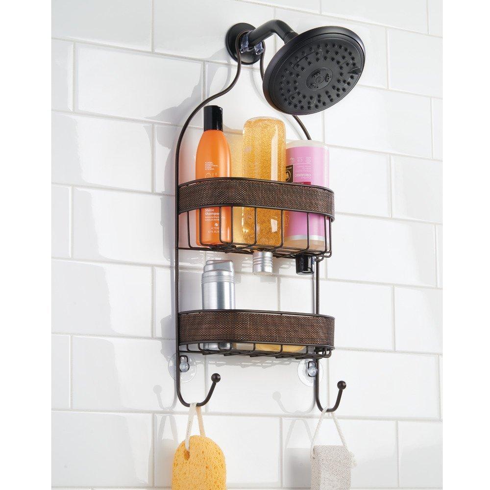 InterDesign シャワーラック 風呂 バスルーム Twillo ブロンズ 36080EJ