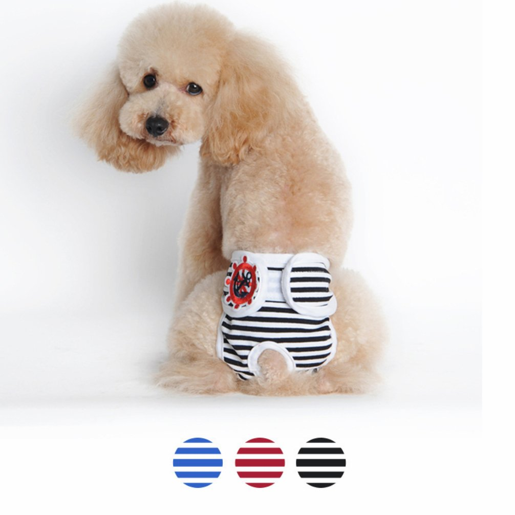 Verbazingwekkend Amazon.com : Be Good 3PC Dog Underwear Adorable Puppy Diaper EY-62