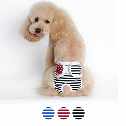 Amazoncom 3pc Be Good Dog Underwear Adorable Puppy Diaper