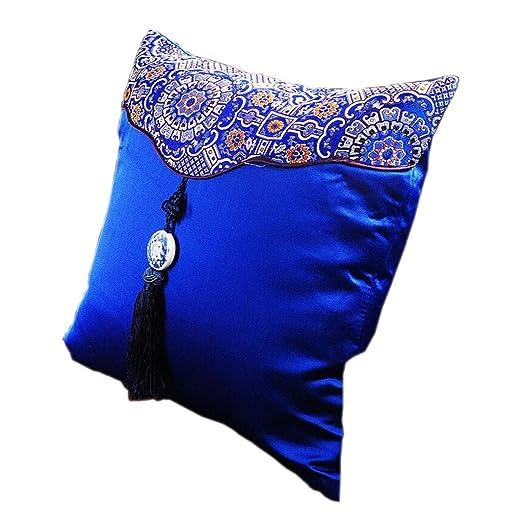 Royal Blue Almohada Solo Núcleo Oreja Colgada Extraíble y ...