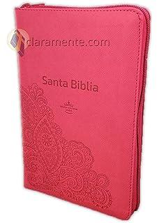 Biblia Letra Grande con Cierre y Concordancia - Reina-Valera 1960 - imitación piel -