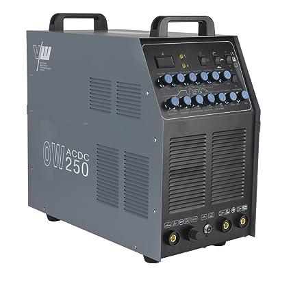 Sudor dispositivo AC/DC Wig ow250 Pulso M. Plasma aluminio Inverter ...