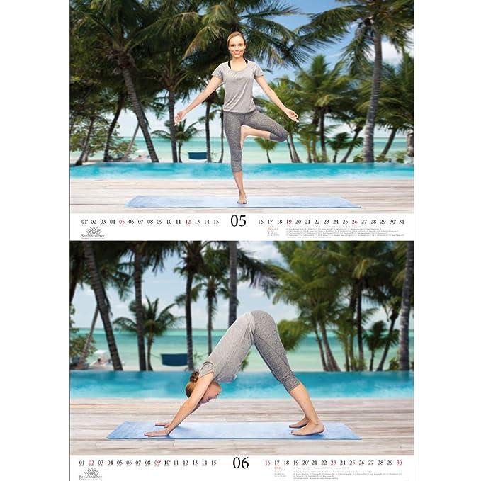 Calendrier de yoga - Format A3 - Calendrier Premium 2019 ...