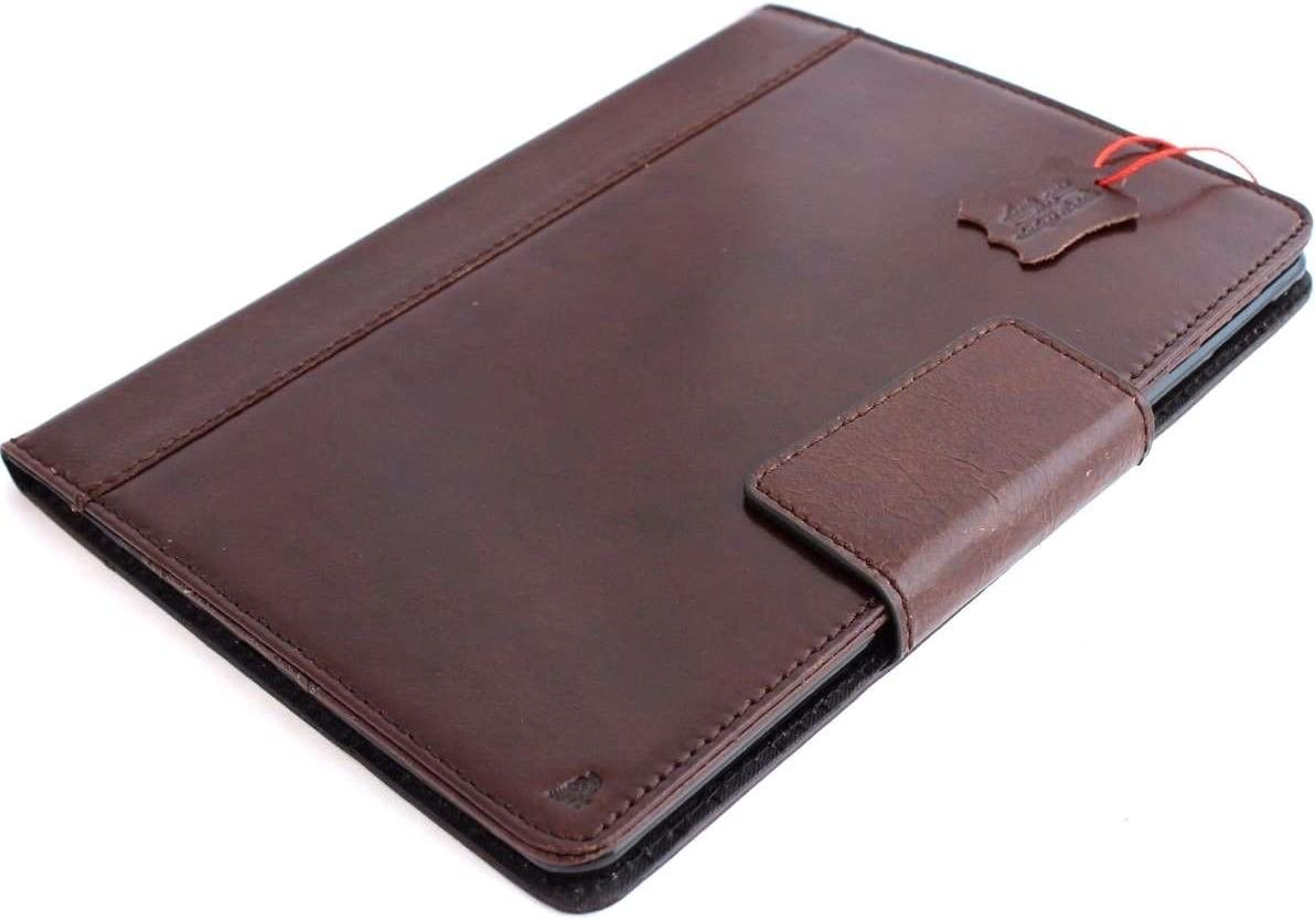 Genuine Vintage Leather Handmade Case for Apple Ipad Pro 9.7 DavisCase Cover Handbag Stand Luxury Credit Cards Slots IL DavisCase