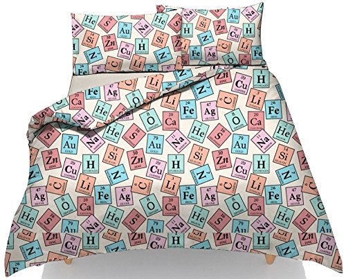 New periodic table of element science duvet cover set with free new periodic table of element science duvet cover set with free matching pillow cases urtaz Image collections