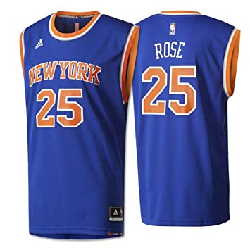 Adidas INT Replica Jrsy Camiseta de Baloncesto New York Knicks, Hombre, Azul, XL