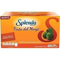 SPLENDA Fruta del Monje: Endulzante bajo en calorías, endulzante sustito natural del azúcar sin resabio amargo. Sobres…