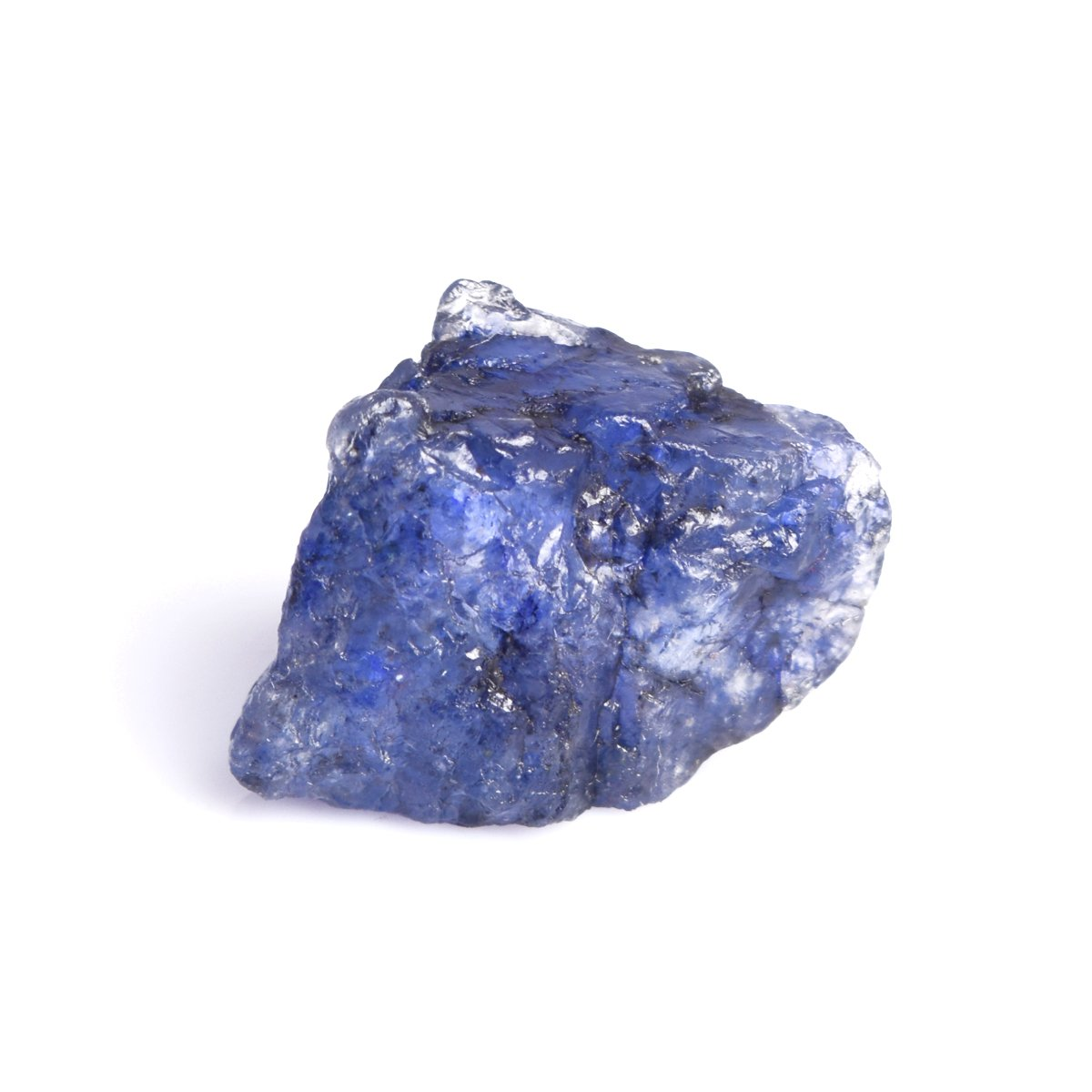18.90 Ct Rough Raw Sapphire Rock Crystals Natural Certified Blue Sapphire for Jewelry Making DP-717 hamlet e commerce