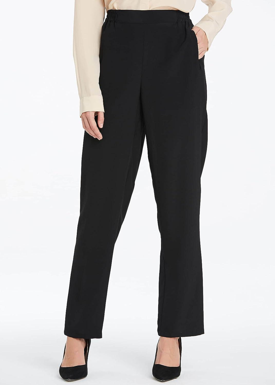 df24cb8e4 LilySilk Women Silk Long Pants Bottoms 18MM Elastic Waist Daily Soft at  Amazon Women s Clothing store