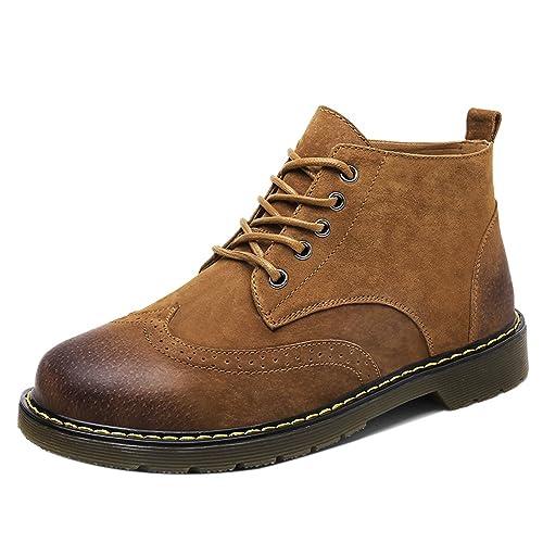 Amazon Complementos Tacon Occidentales Moda Oxford Oculto Coolcept Y Hombre es Zapatos Botines 7xc4qZYRP8