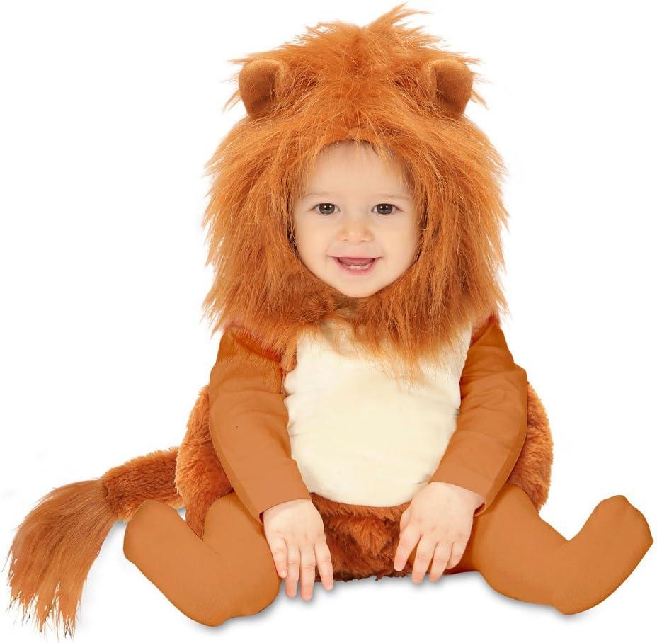 Amakando Traje león bebé Disfraz leoncito 98 cm años 1 - 2 Vestido ...