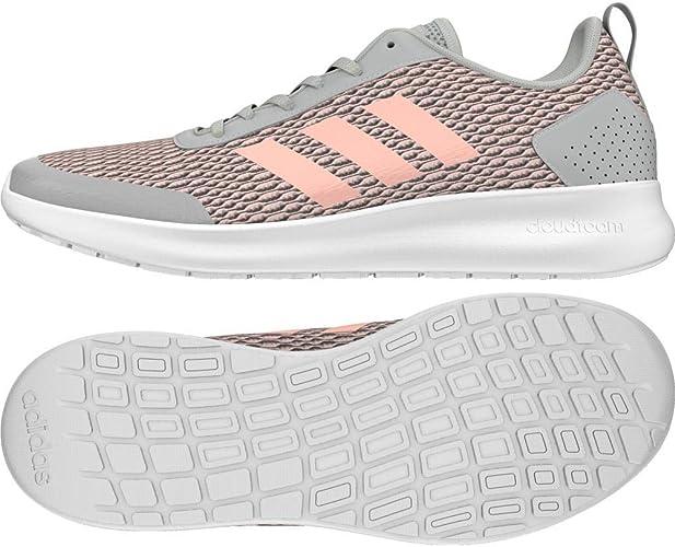 Adidas Frauen Element Race Trainingsschuhe Laufschuhe Weiß