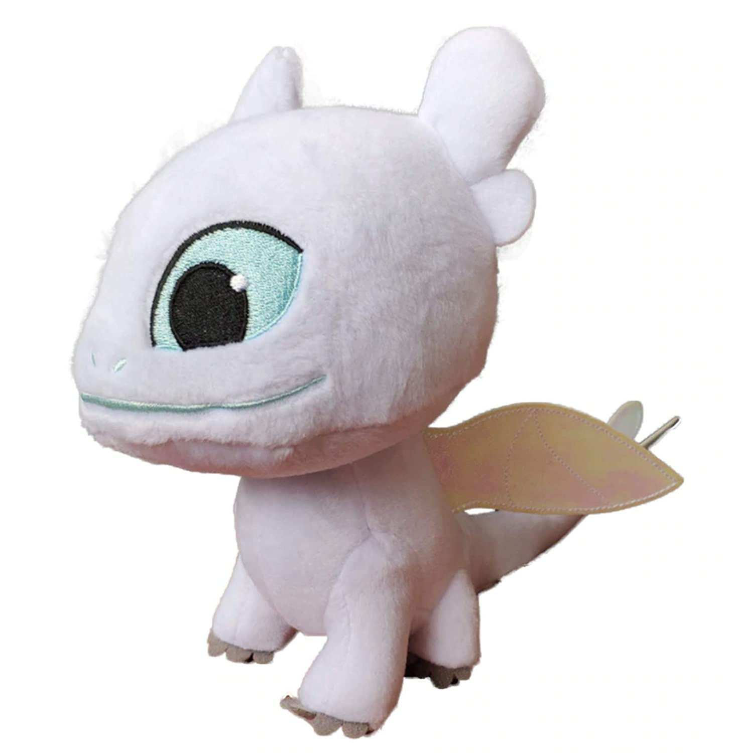 How to Train Your Dragon 3 Light Fury Plush Doll White Dragon Stuffed Toy Gifts