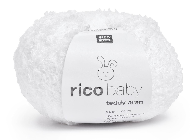 Wolle Rico Baby Teddy Aran Mint Amazonde Spielzeug