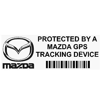 5 x ppmazdagpsblk GPS negro dispositivo de seguimiento de seguridad ventana pegatinas 87 x 30 mm-car, Van alarma Tracker