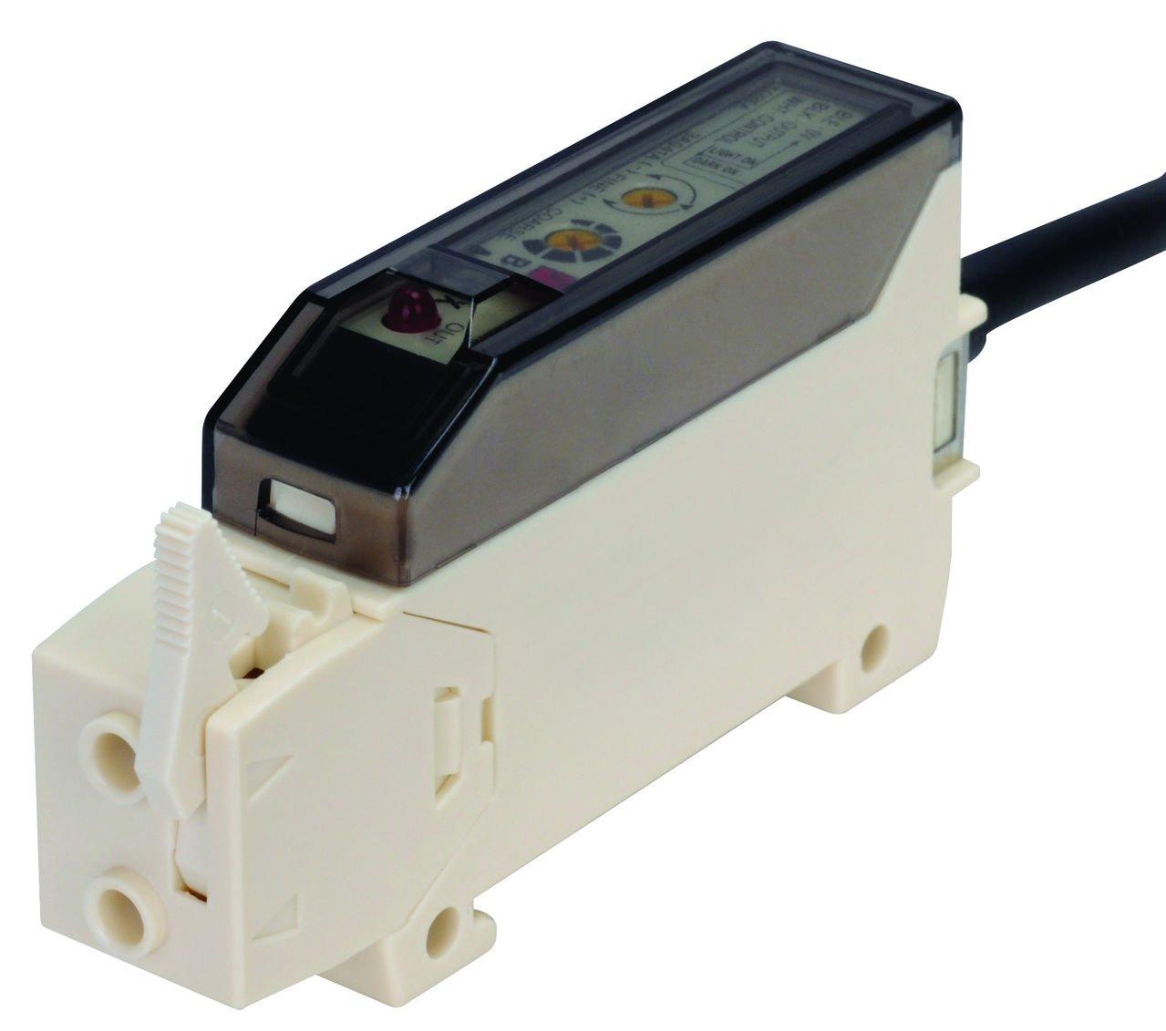 AUTONICS BF3RX Amplifier, Fiber Optic, Light & Dark On, NPN Output, 12-24 VDC (fiber req'd)