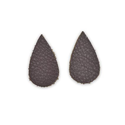 "Leather Earrings Teardrop Window Die Cut 12pk /""Cali/"" Sierra Redwoods DIY"