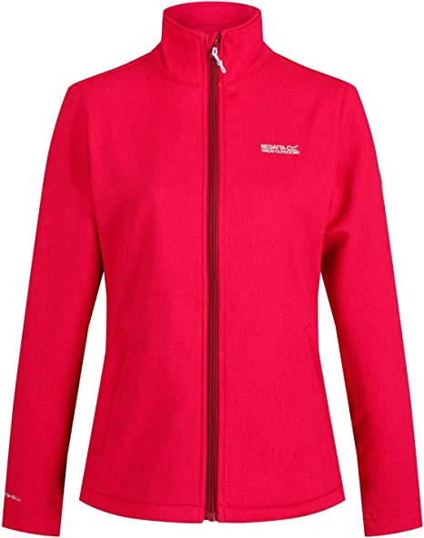 Regatta Womens Print Perfect Softshell Jacket Long Sleeve Jacket