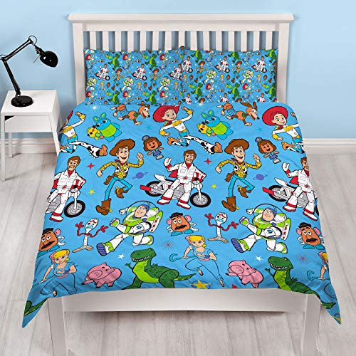 Toy Story 4 Rescue Double Duvet Cover Set (Cover Woody Duvet)