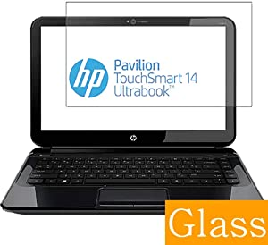 Synvy Tempered Glass Screen Protector for HP Pavilion TouchSmart 14-b100 / b109wm / b151tu / b133tx 14