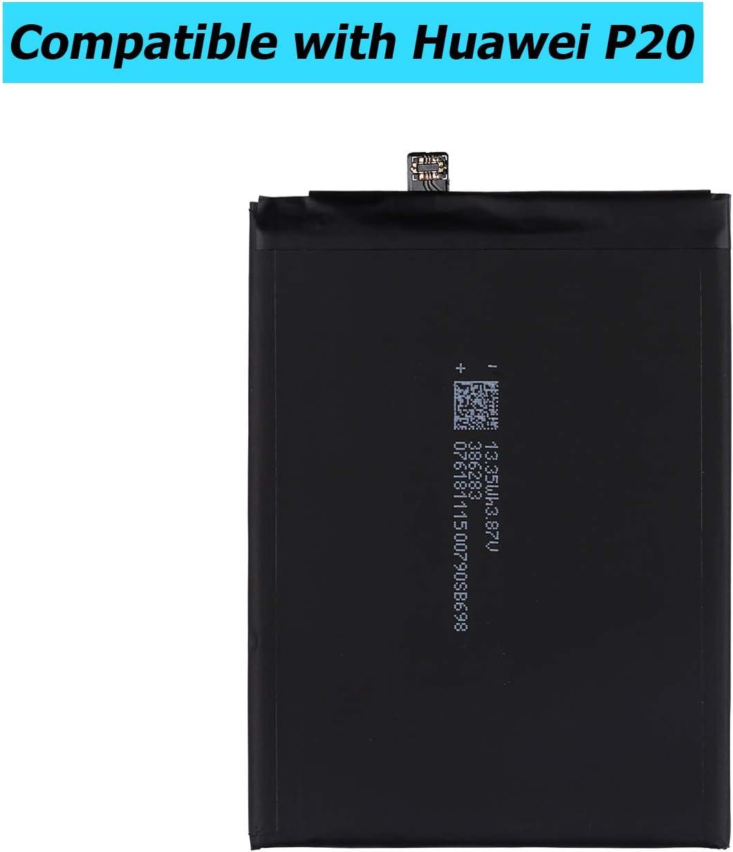 Upplus HB396285ECW 3300 mAh, con Kit de Herramientas Bater/ía de Repuesto Compatible con Huawei P20 EML-AL00