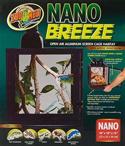 Amazon.com: Zoo Med Labs Nano Breeze alumuninum Protector de ...