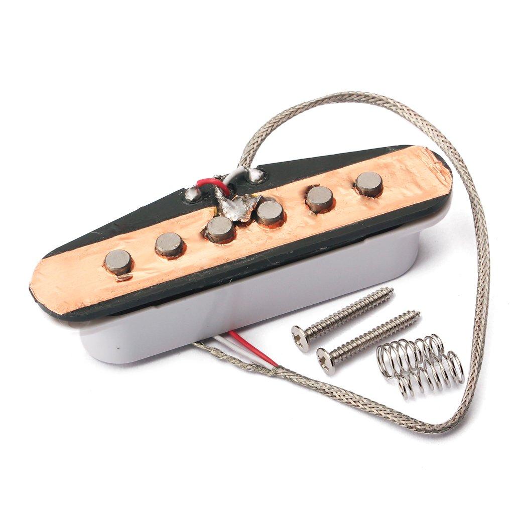 sharprepublic Satz Von 3 Alnico 5 Pickup Set Scatter Wunde F/ür ST E Gitarre 48//50 52mm