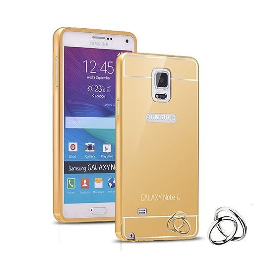 87 opinioni per HICASER Alluminio Metallo Custodia per Samsung Galaxy Note 4 Lusso Bumper Case +