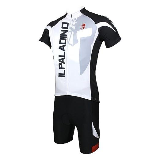 YGBH Traje de Ciclismo, Camisa de Manga Corta para Hombres ...