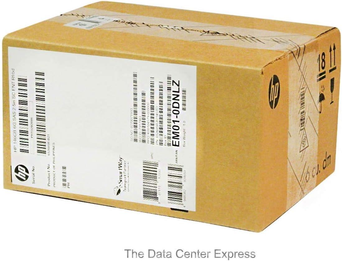 652605-B21 HP 653950-001 146GB 6G SAS 15K RPM SFF