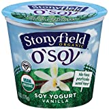 Stonyfield Farm Organic O Soy Fruit on the Bottom Vanilla Soy Yogurt, 6 Ounce - 12 per case.