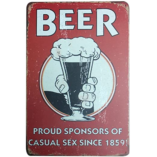 kentop Cartel de chapa cerveza Pintura Póster retro metal pared Cartel decorativo para publicidad pared Cartel para bar Coffee Shop Home pared ...