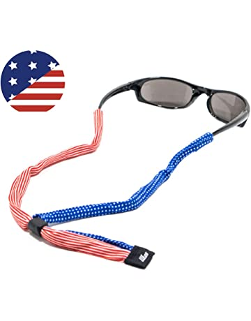 fd830f44c9ba Ukes Premium Sunglass Strap - Durable   Soft Eyewear Retainer Designed with  Cotton Material - Secure