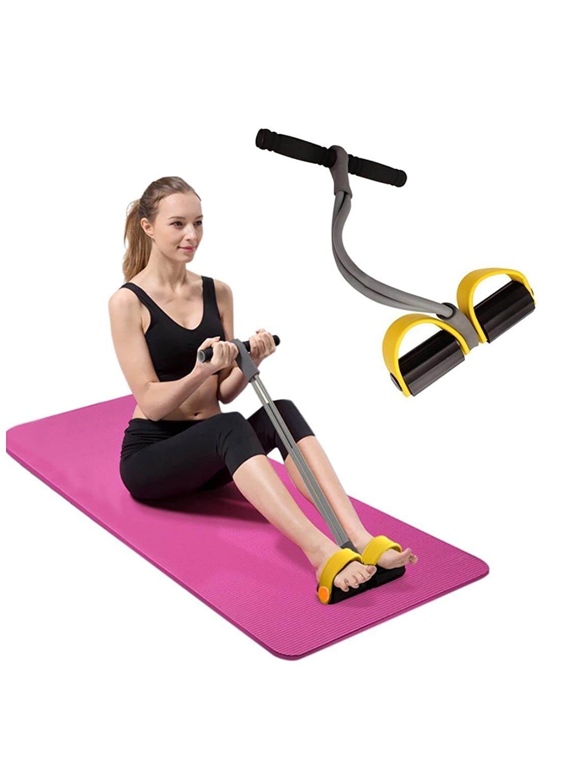 ZZ ZONEX Waist Reducer Exerciser Body Shaper Trimmer (Best for Reducing Your Waistline and Burn Off Extra Calories)