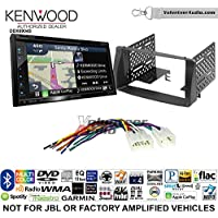 Volunteer Audio Kenwood Excelon DNX694S Double Din Radio Install Kit with GPS Navigation System Android Auto Apple CarPlay Fits 2003-2008 Non Amplified Toyota Corolla