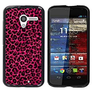 All Phone Most Case / Hard PC Metal piece Shell Slim Cover Protective Case Carcasa Funda Caso de protección para Motorola Moto X 1 1st GEN I XT1058 XT1053 XT1052 XT1056 XT1060 XT1055 pink pu