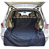 "SUV Cargo Liner Cover for Dogs Universal Fit and 100% Waterproof for Standard And Full Size SUV, OR Minivan (Size 55""x 106"" Black) (55""x 106"")"