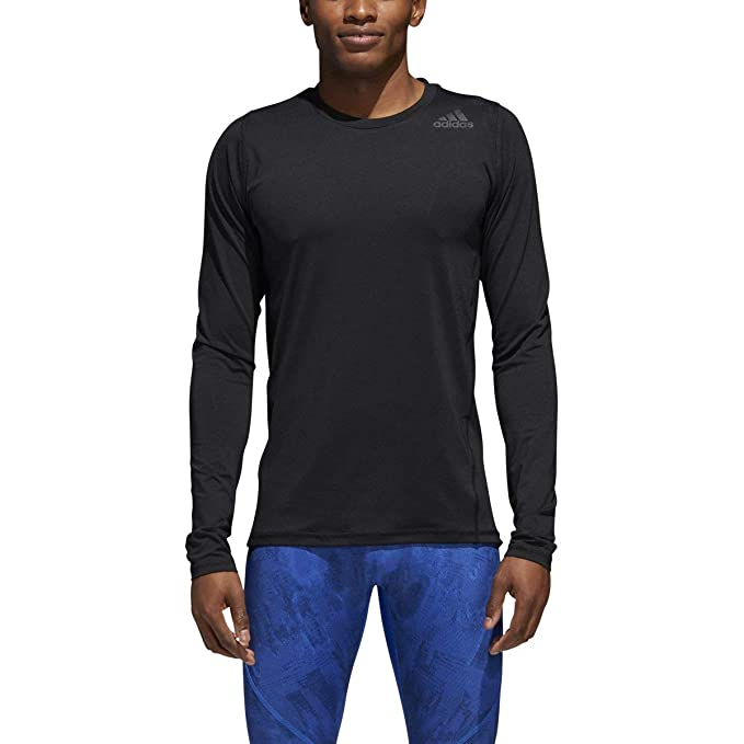 a1af95b7f6654 adidas Mens Alphaskin Sport Fitted Long Sleeve Tee