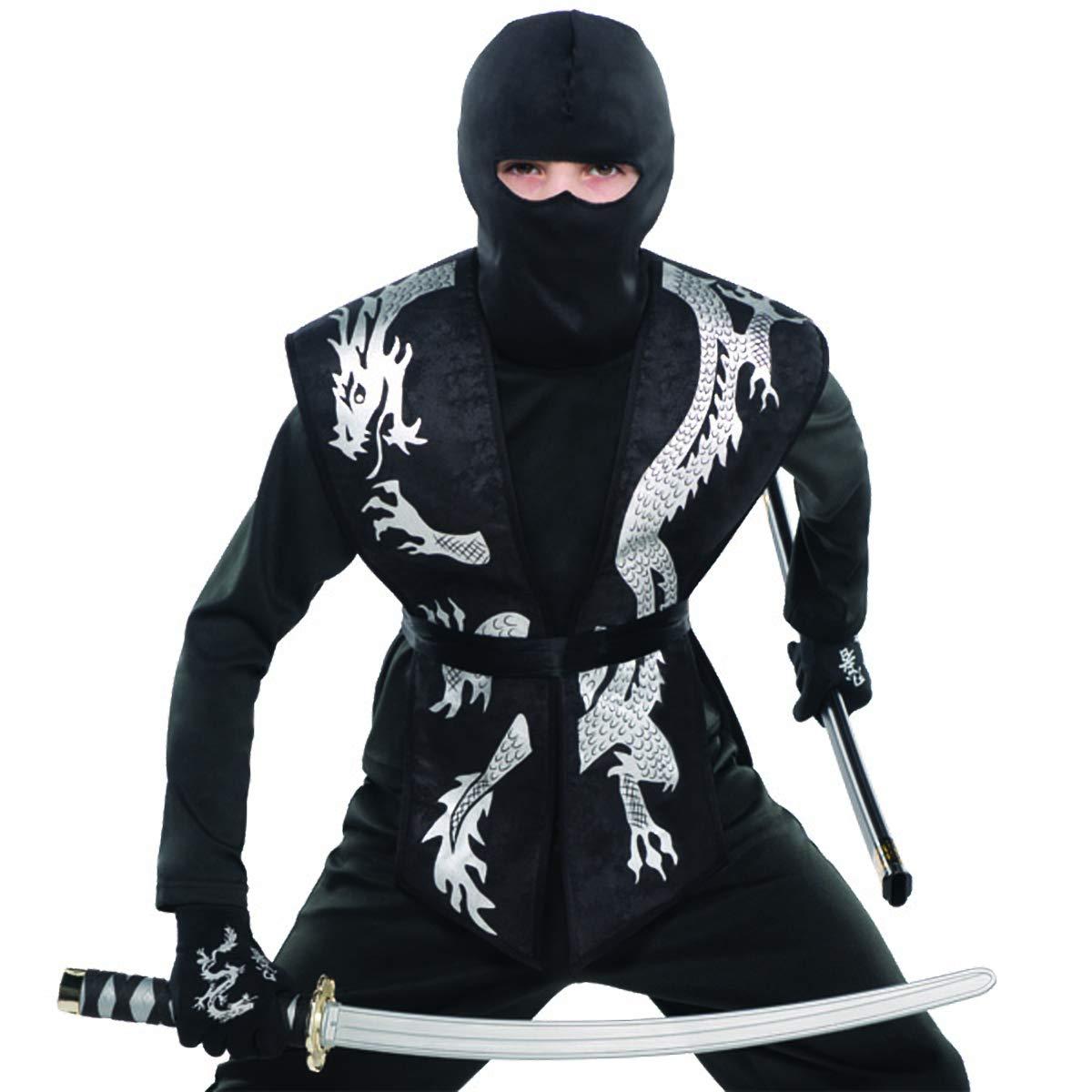 Amazon.com: Child Black Ninja Tabard   3 Ct.: Toys & Games