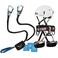 Klettersteigset Salewa Premium Attac + LACD Gurt Start + Helm LACD Protector 2.0
