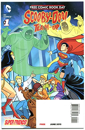 SCOOBY-DOO TEAM UP / TEEN TITANS GO #1, NM, FCBD, 2015,more Promo/items in store