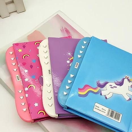 Amazon.com: Paquete de 2 unicornio cuaderno secreto ...