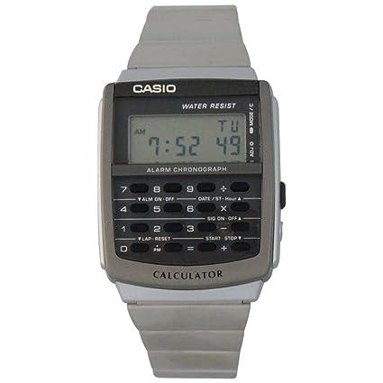 CA y CALCULADORA esDeportes Casio RELOJ 506CasioAmazon IWEDH29