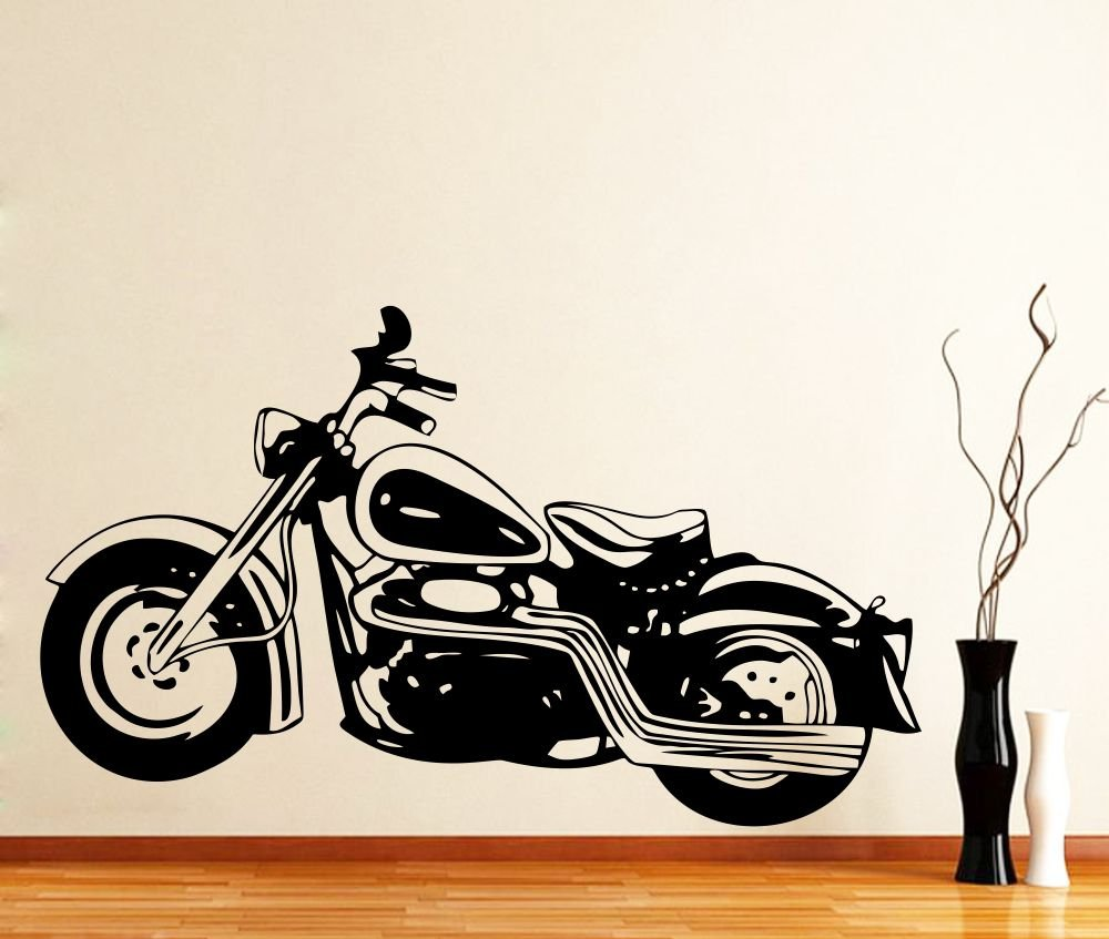 Buy impression wall decor sticker bullet bike design cover area 36 x 21 inch online at low prices in india amazon in