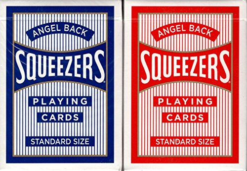 Squeezers Angel Back Playing Cards USPCC (2 Deck Set)